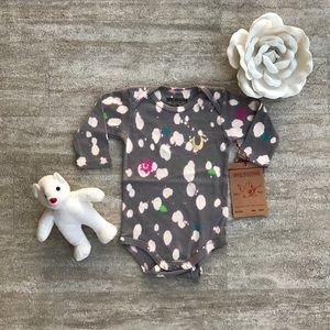 True Religion Baby Onesie splatter paint outfit
